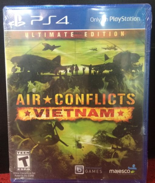 PS4 Air Conflicts Vietnam game