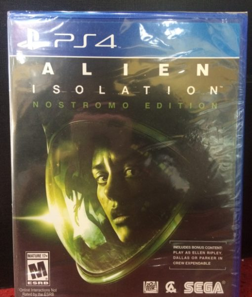 PS4 Alien Isolation game