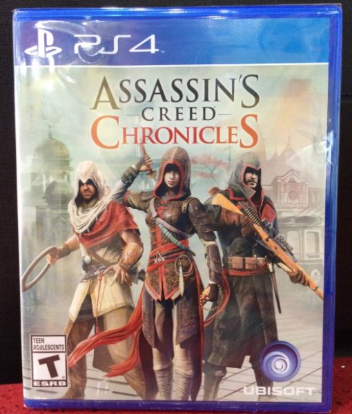 PS4 Assassins Creed Chronicles game