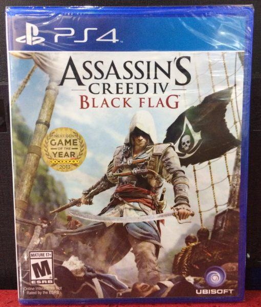 PS4 Assassins Creed IV Black Flag game