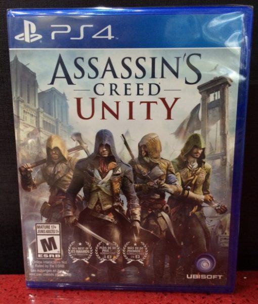 PS4 Assassins Creed Unity game