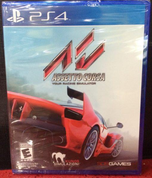 PS4 Assetto Corsa game
