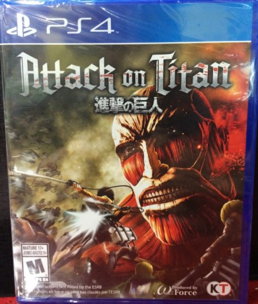 PS4 Attack on Titan game