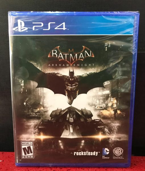 PS4 Batman Arkham Knight game