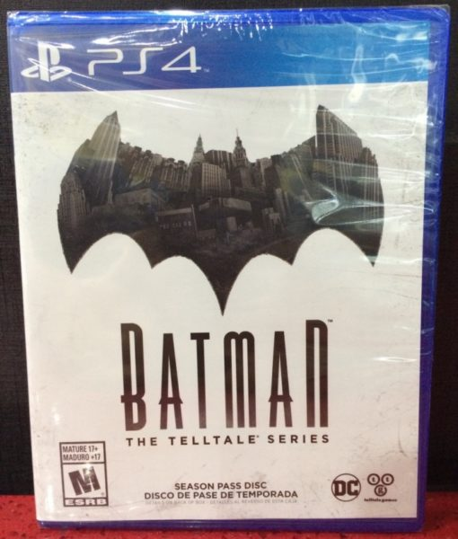 PS4 Batman The Telltale Series game
