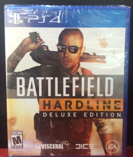 PS4 BattleField Hardline Deluxe game