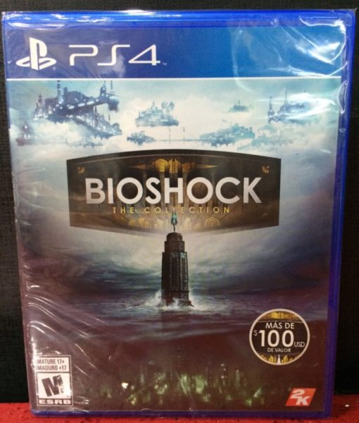 PS4 BioShock The Collection game