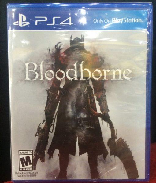 PS4 Bloodborne game