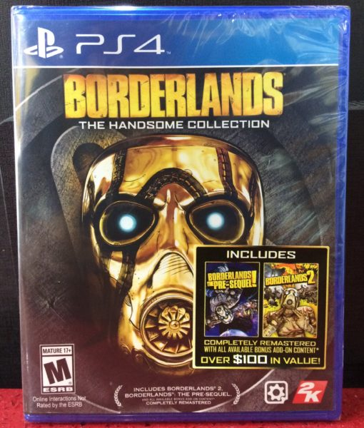 PS4 BorderLands Handsome Collection game