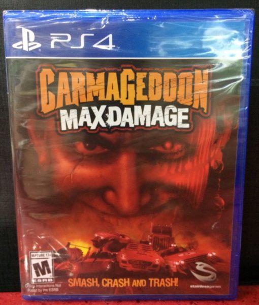 PS4 Carmageddon Max Damage game