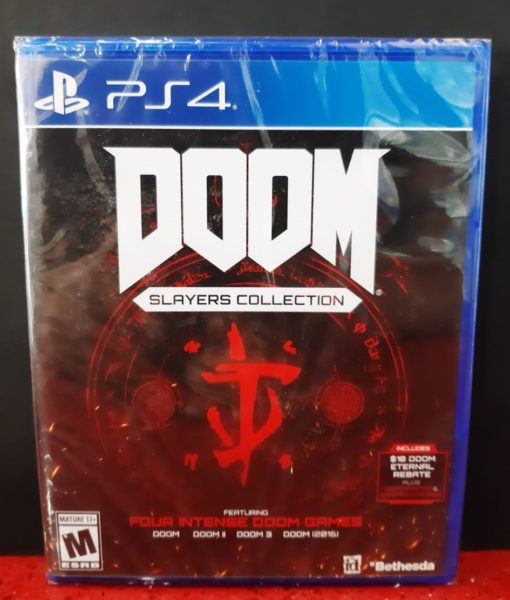 PS4 DOOM Slayer game