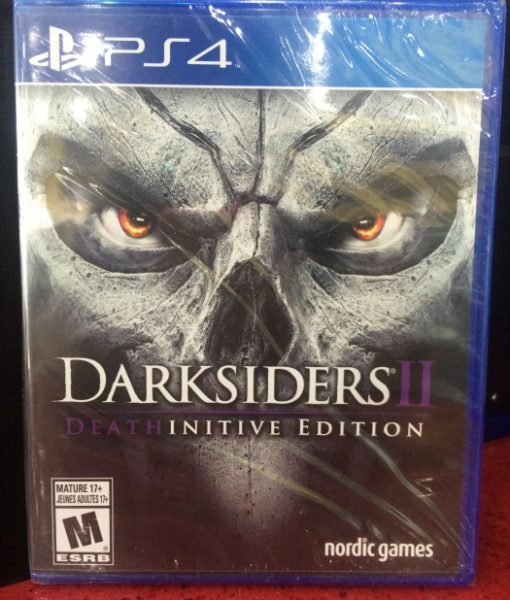 PS4 Darksiders II Deathinitive Edition game