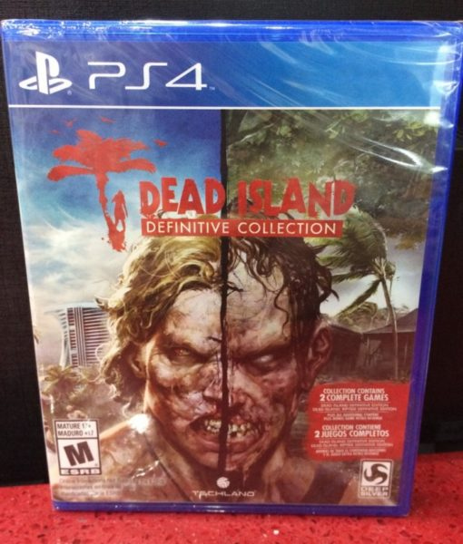 PS4 Dead Island Definitive Collection game