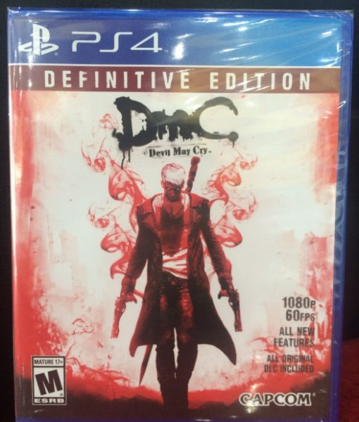 PS4 Devil May Cry 5 DMC Definitive game