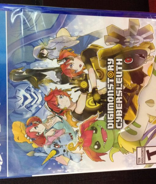 PS4 DigimonStory CyberSleuth game