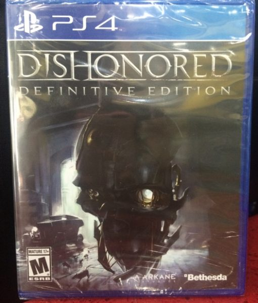 PS4 Dishonored Definitive Edition game