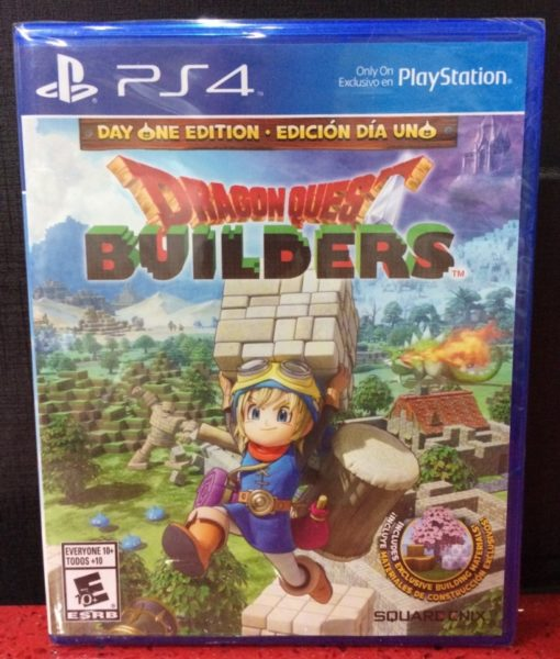 PS4 Dragon Quest Builders game