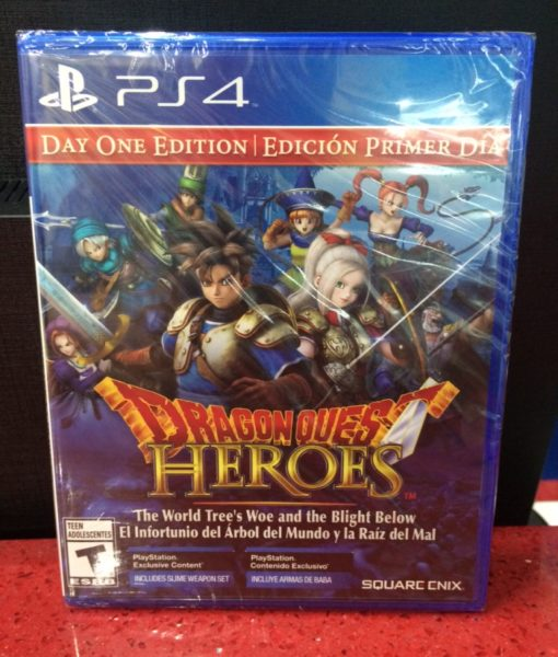 PS4 Dragon Quest Heroes game