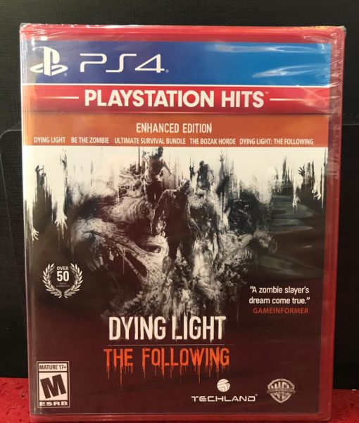 PS4 Dying Light The Following game