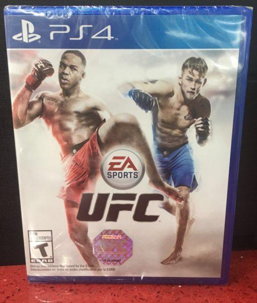 PS4 EA UFC 2014 game