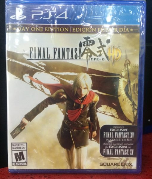 PS4 Final Fantasy Type 0 HD game