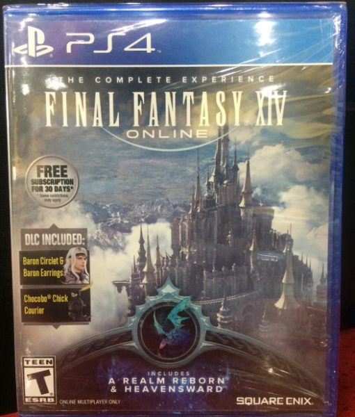 PS4 Final Fantasy XIV Online Complete game
