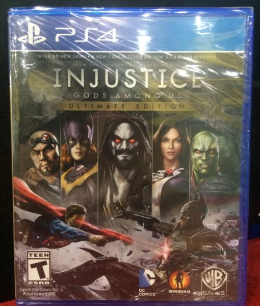 PS4 Injustice Ultimate Edition game