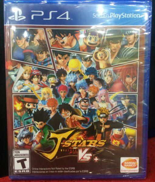 PS4 J-Stars Victory VS game