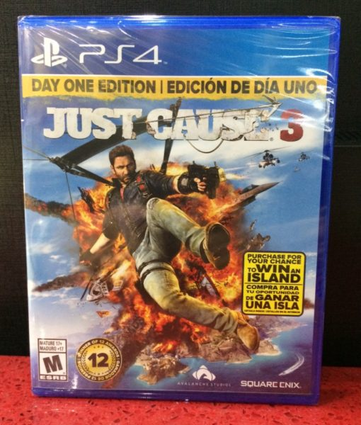PS4 Just Cause 3 game