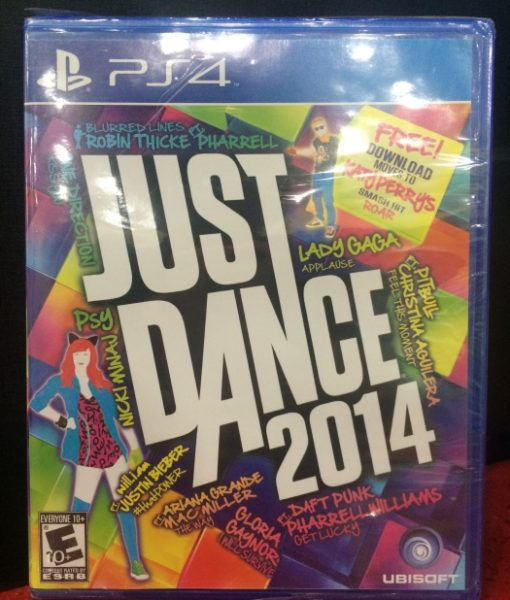 PS4 Just Dance 2014 game