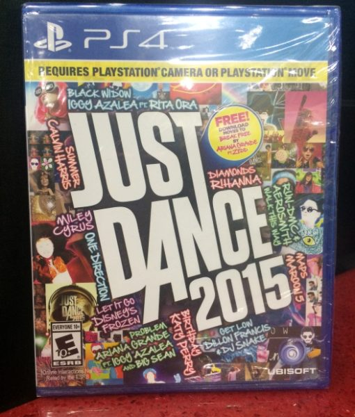 PS4 Just Dance 2015 game