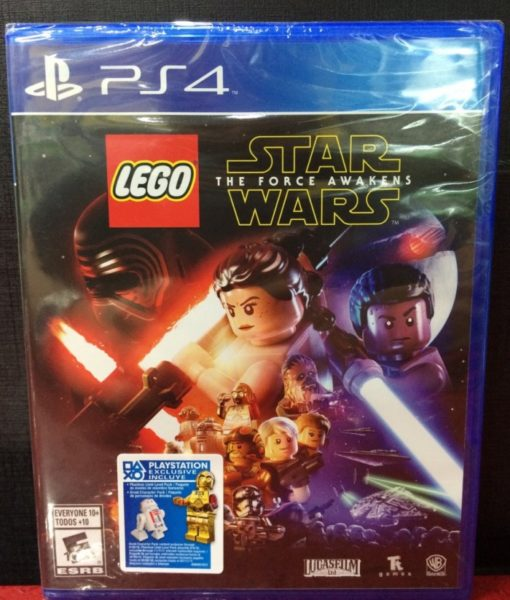 PS4 LEGO Force Awakens game