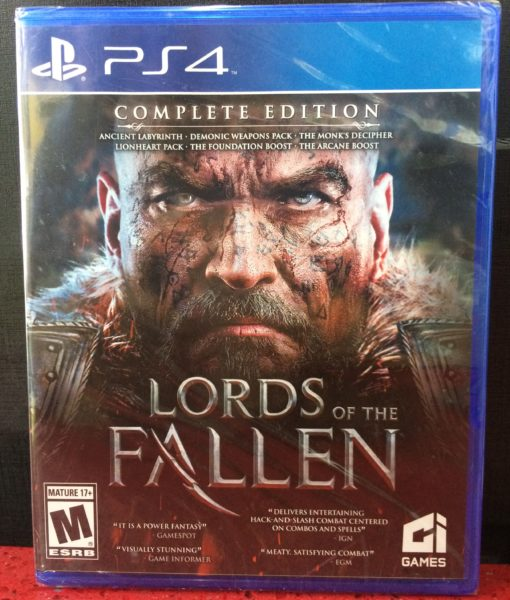 PS4 Lords of the Fallen Complete game