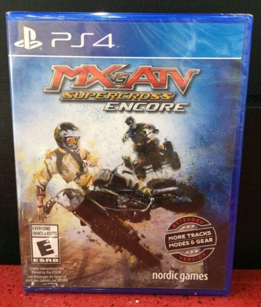 PS4 MX vs ATV Supercross Encore game
