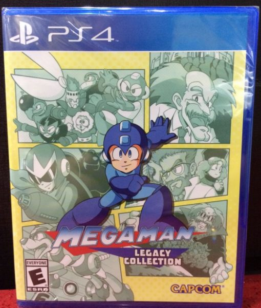 PS4 Megaman Legacy Collection game