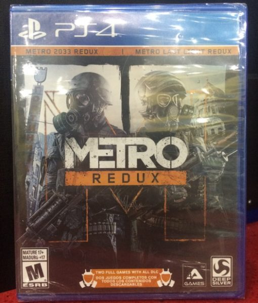 PS4 Metro Redux game