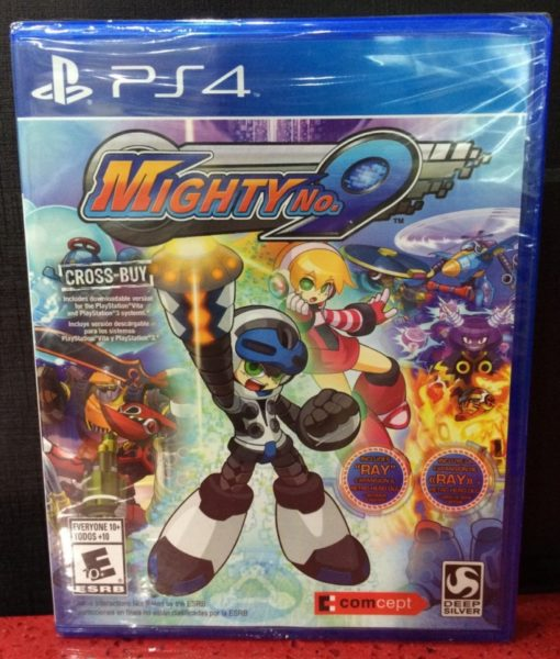 PS4 Mighty No.9 game