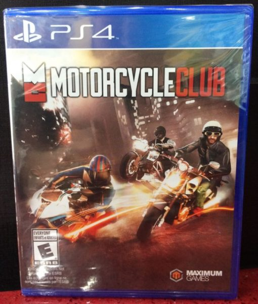 PS4 Motorcycle Club game