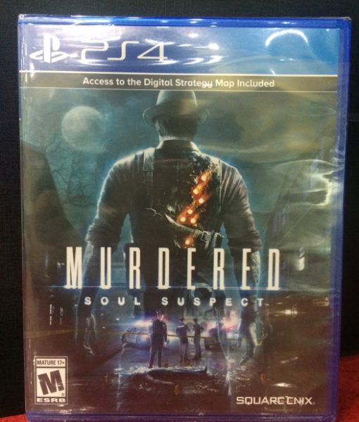 PS4 Murdered Soul Suspect game