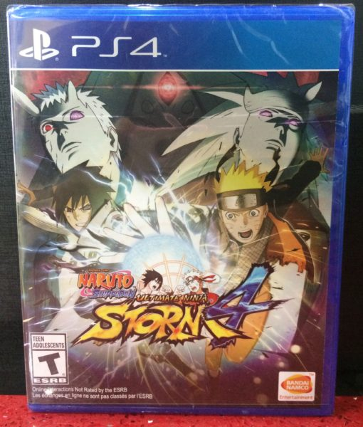 PS4 Naruto Ninja Storm 4 game