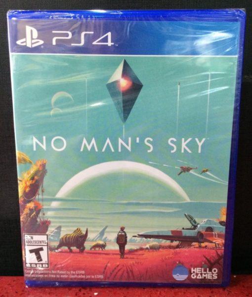 PS4 No Mans Sky game
