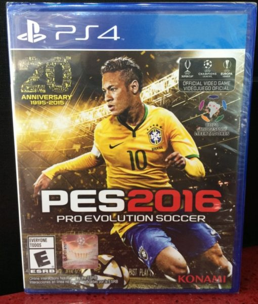PS4 PES 2016 game