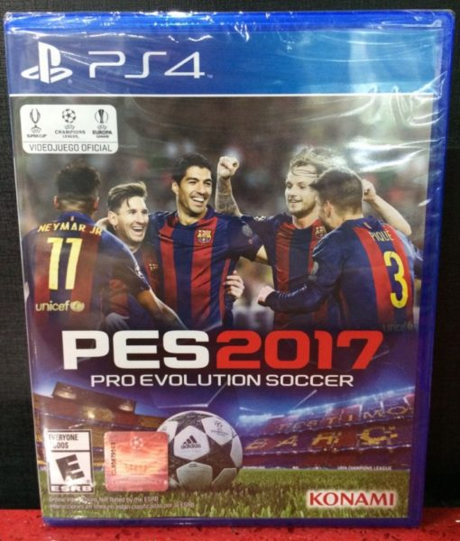 PS4 PES 2017 game