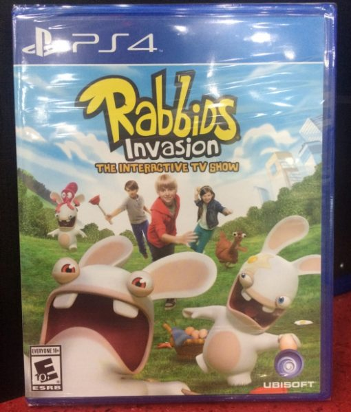 PS4 Rabbids Invasion game