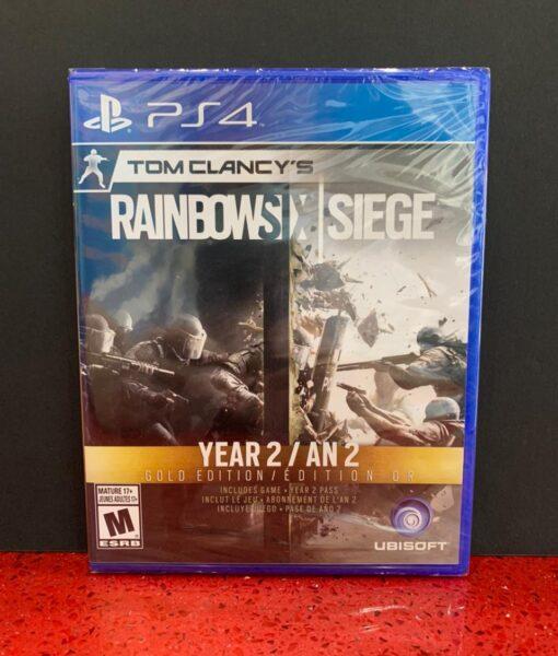 PS4 Rainbow Six SIEGE year2 game