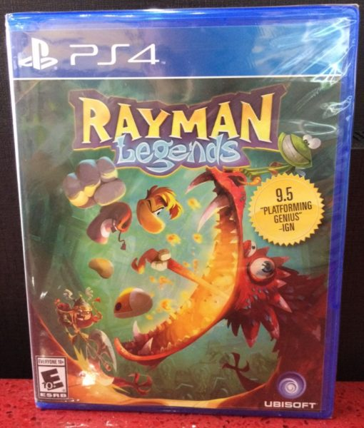 PS4 Rayman Legends game