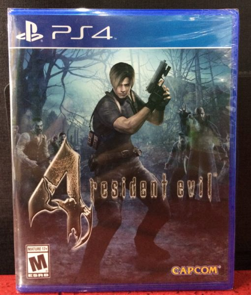 PS4 Resident Evil 4 HD game
