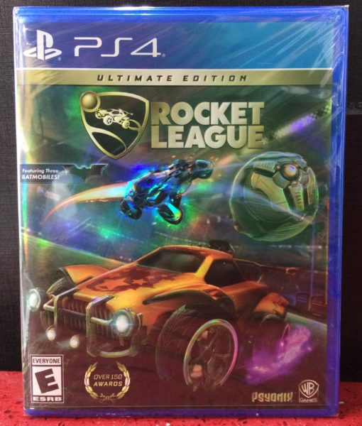 PS4 Rocket League Ultimate Edition game