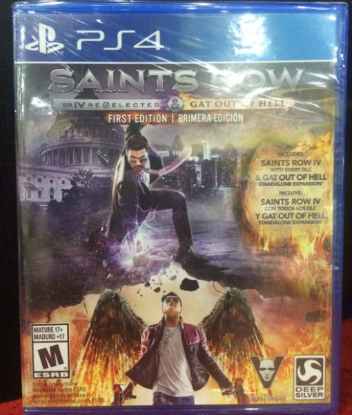 PS4 Saints Row Gat Out of Hell game