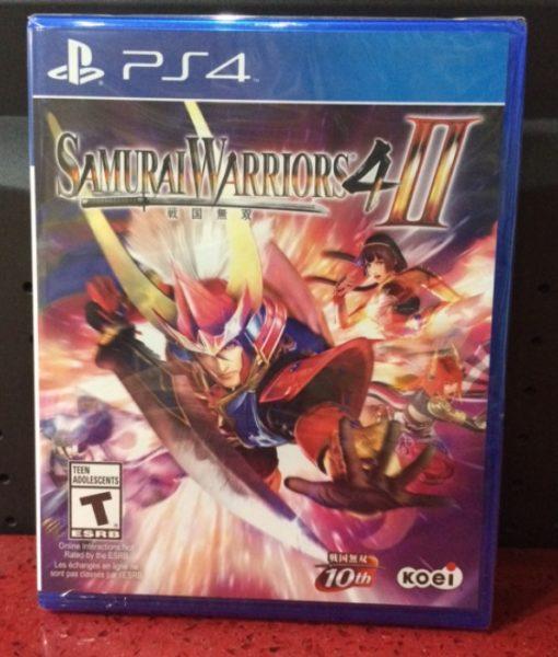 PS4 Samurai Warriors 4 II game